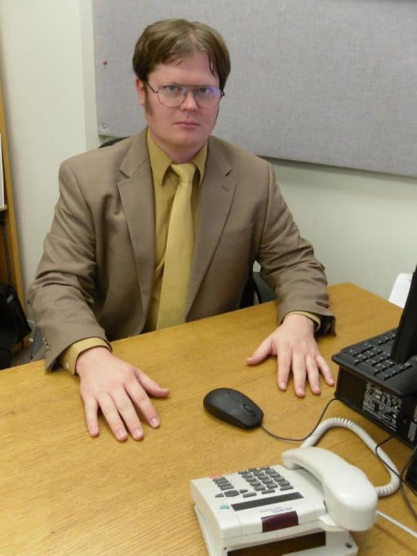 Dwight Schrute Cosplay from 'The Office'